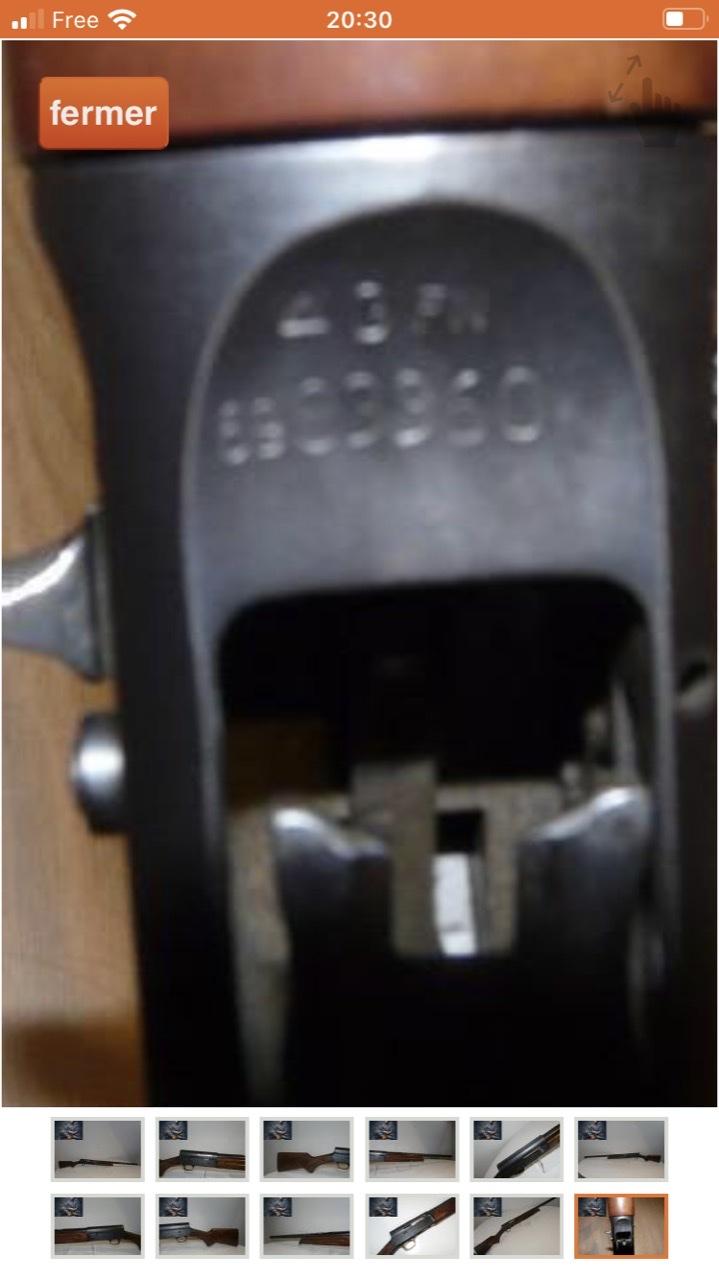 Help ! Numéro de série Browning Auto 5 Cbe71210