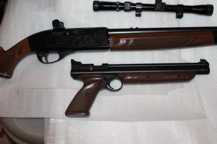 Et encore une: carabine Crosman 766 1510