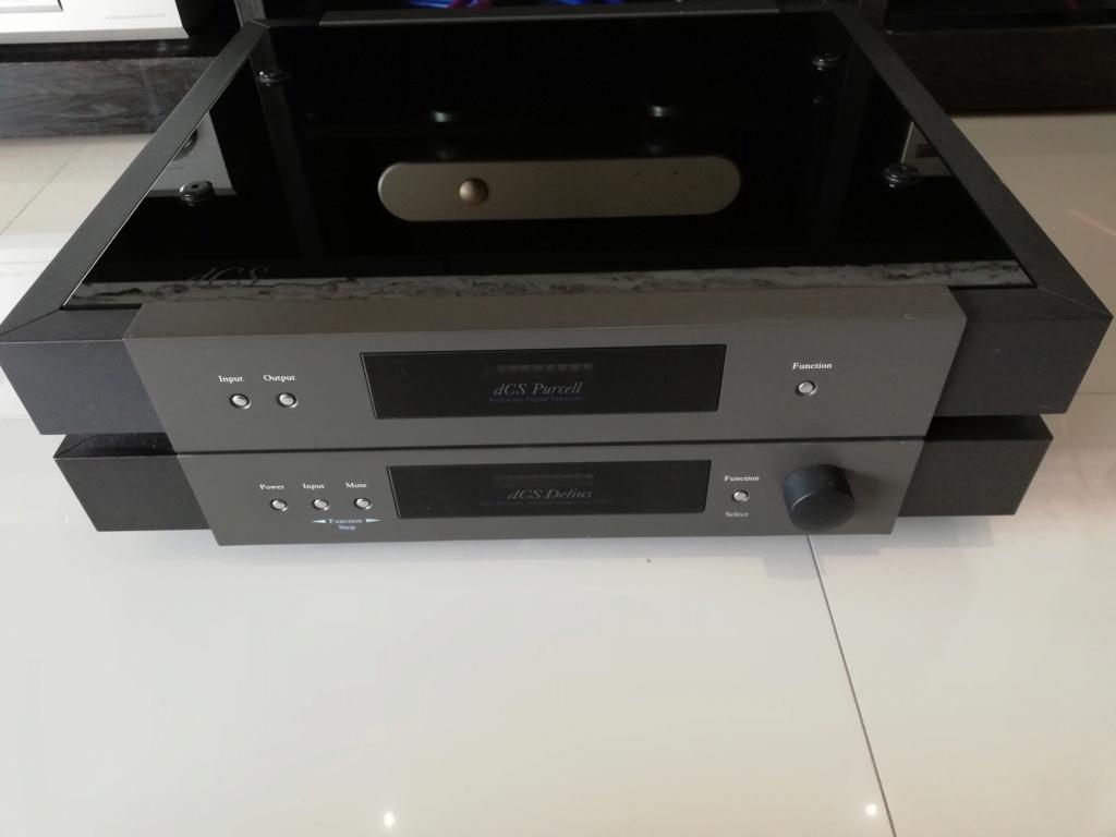 Goldmund Meta Research Laser 2 CD transport, DCS Delius D/A converter & DCS Purcell D/D converter Img_2037