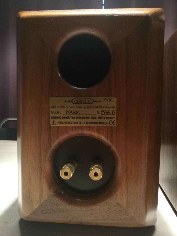 Diapason Karis MK 1 Bookshelf Loudspeakers Img_2056