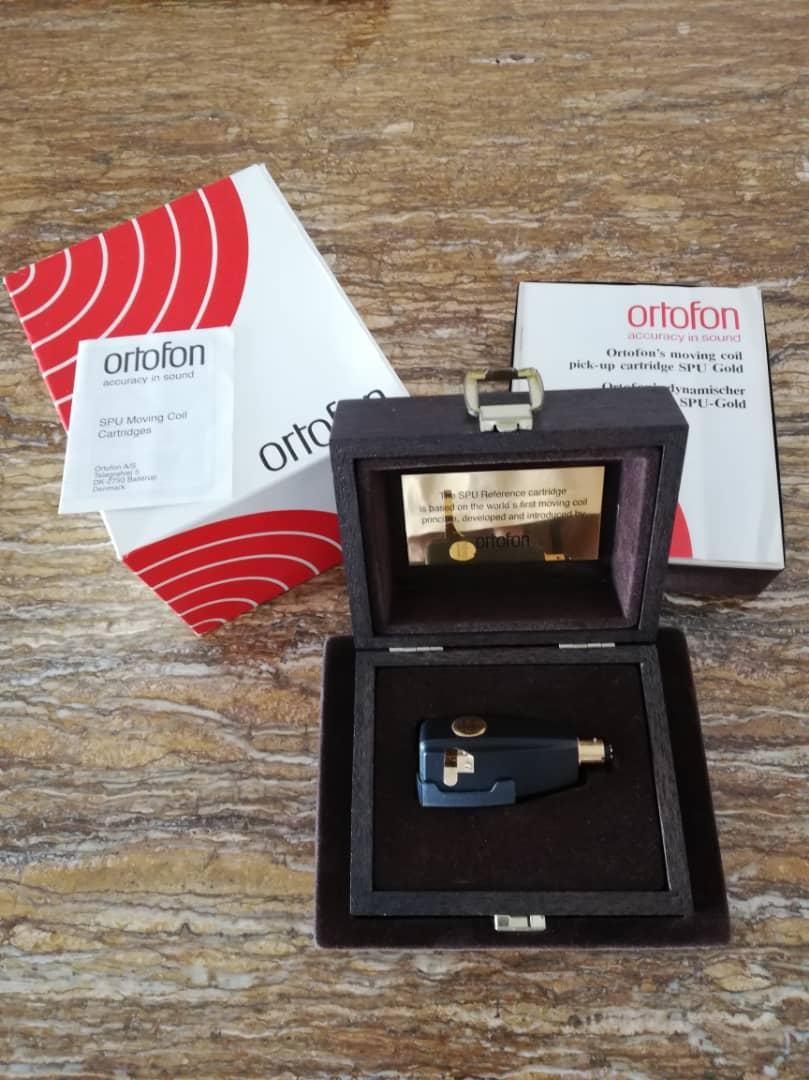 Ortofon SPU Gold Referenc MC Cartridge  Ortofo10