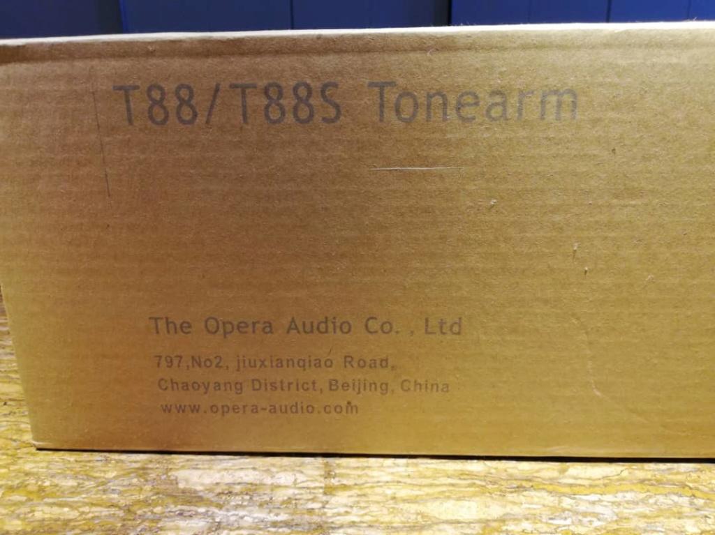 Opera Consonance T88s 12 inch Tonearm, Demo Unit (SOLD!) Whatsa15