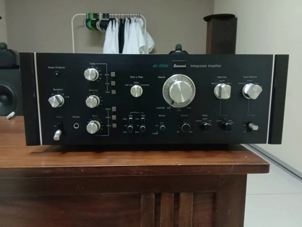 Sansui AU-11000 Integrated Stereo Amplifier  Whatsa22
