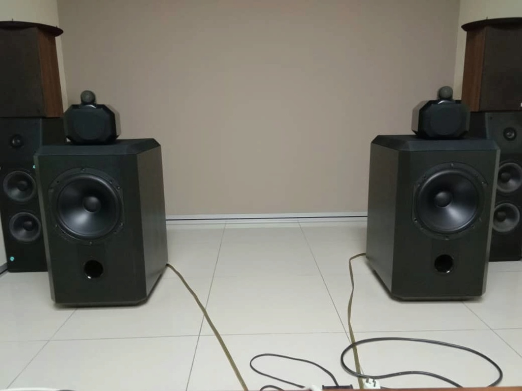 B&W Matrix 801 Series 2 Speakers Whatsa27