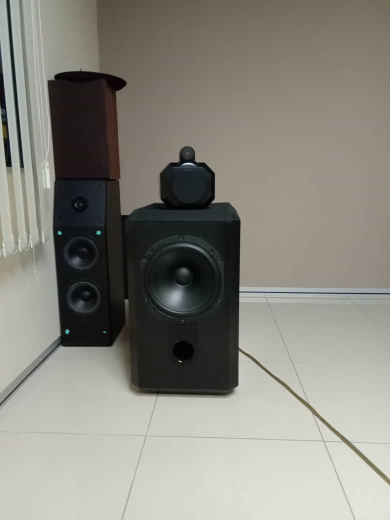 B&W Matrix 801 Series 2 Speakers Whatsa28