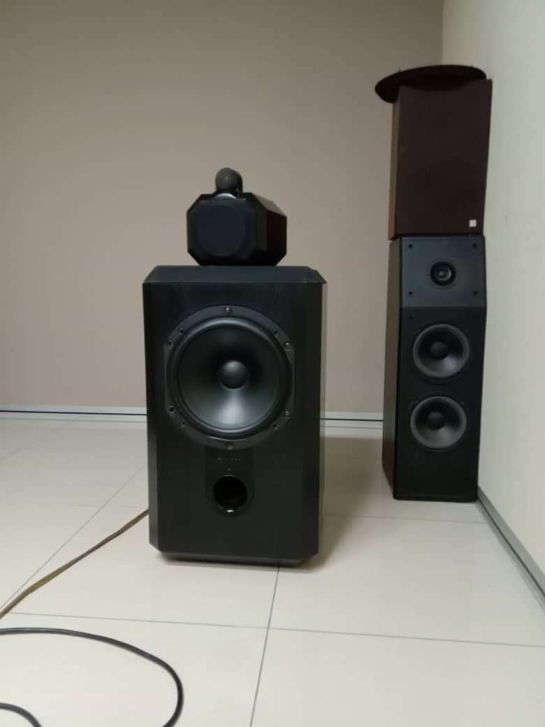 B&W Matrix 801 Series 2 Speakers Whatsa29