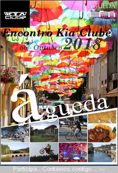 Encontro Nacional Kia Clube Águeda 2018 Cartaz10