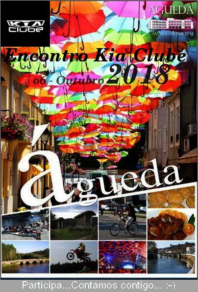 Encontro Nacional Kia Clube Águeda 2018 Cartaz11