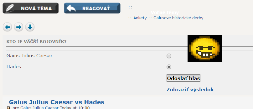 Gaius Julius Caesar vs Hades Mrdofz10