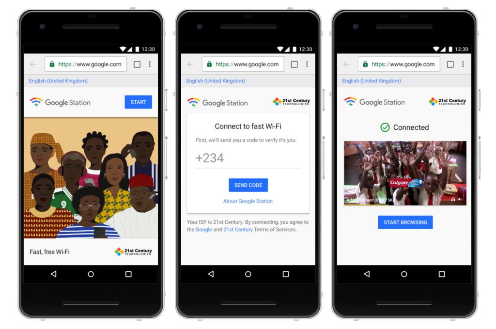 Η Google εγκαθιστά WiFi hotspots στη Νιγηρία Trew10
