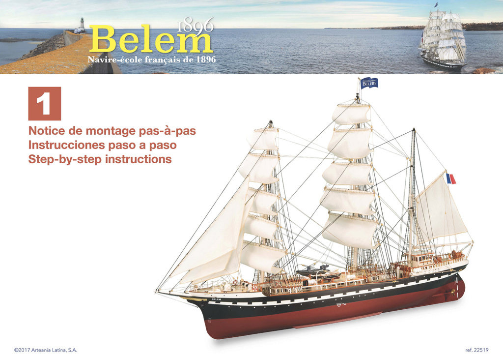 Belem (Artesania Latina 1/75°) par marcel47 00110