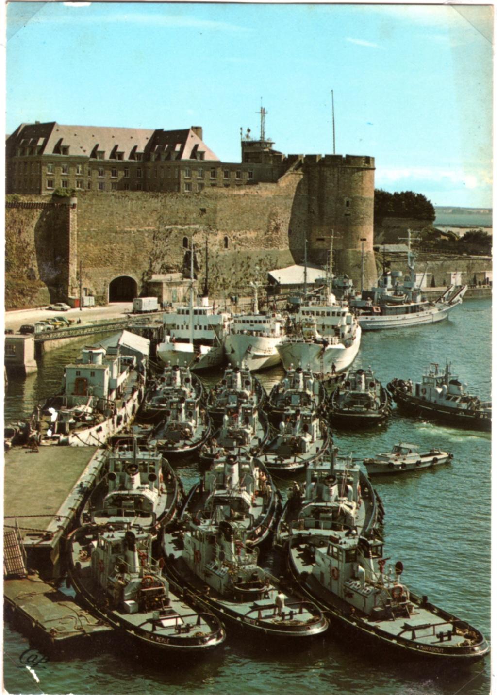 [Les ports militaires de métropole] Port de BREST - TOME 3 - Page 18 Img17110