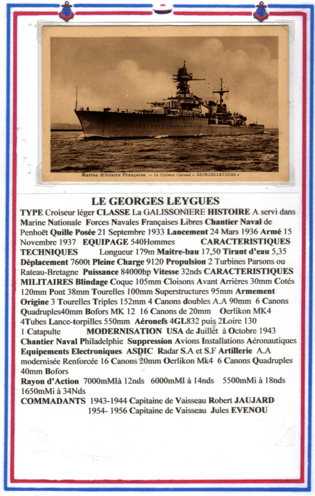 GEORGES LEYGUES (Croiseur) - Page 4 Img17610