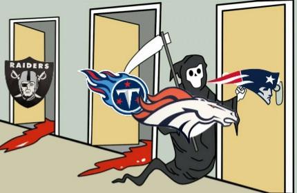 Broncos @ Titans  Snapch13