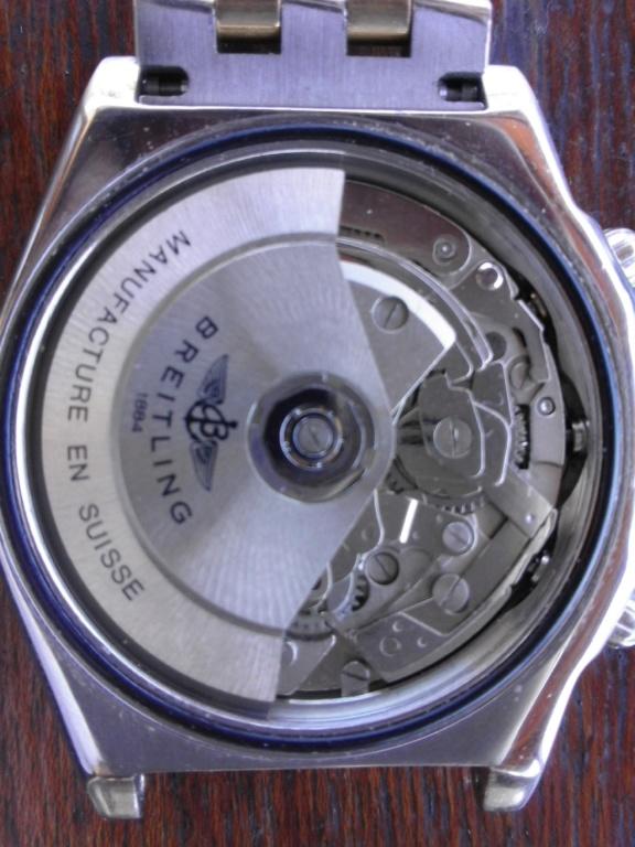 Breitling - comment fixer la couronne d' une Breitling Chronomat 20180610