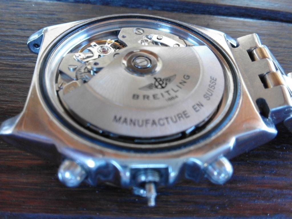Breitling - comment fixer la couronne d' une Breitling Chronomat 20180616