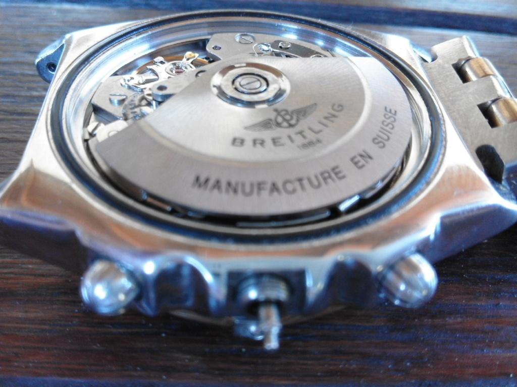 Breitling - comment fixer la couronne d' une Breitling Chronomat 20180617