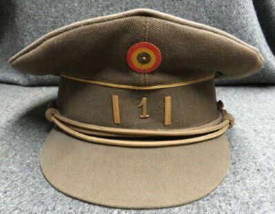 Information casquette officier belge 110