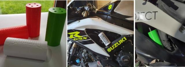 Bocal récupérateur de fluides Demonio Racing Image111