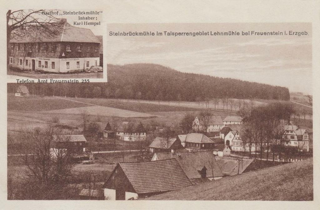 Steinbrückmühle um 1925  Steinb11