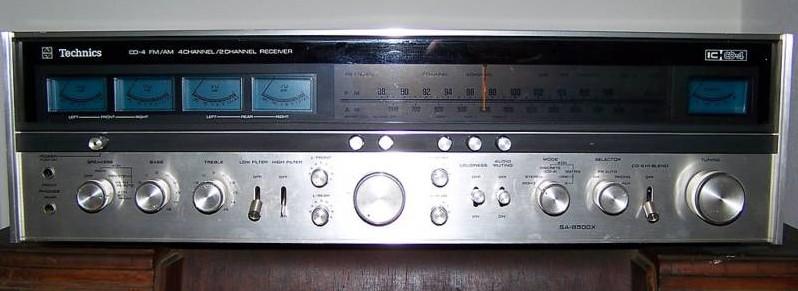 Technics SA 8500 X   VS   Yamaha CR 1020       Receiver Techni10