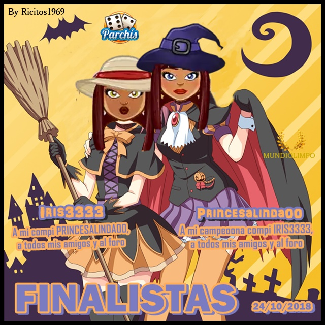 Ganadores Torneo de parchis 24/10/2018 Finali16