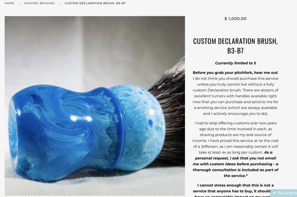 Declaration Grooming Custom Screen13