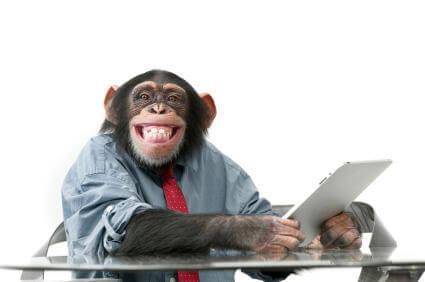 Mort de rire — parce que j'ai le sens de l'humour ! - Page 11 Monkey12