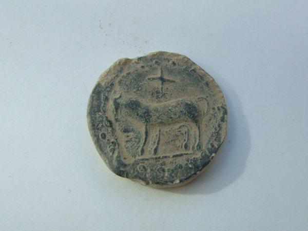 Imágenes a gran escala de pátinas y monedas falsas. Escalofriante (+18). 002-2010