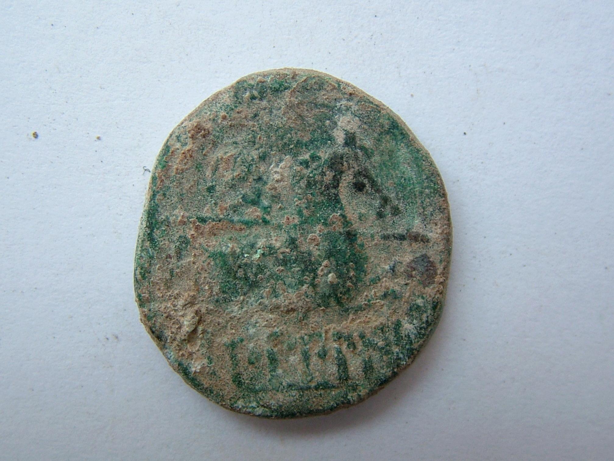 Imágenes a gran escala de pátinas y monedas falsas. Escalofriante (+18). 02_rev10