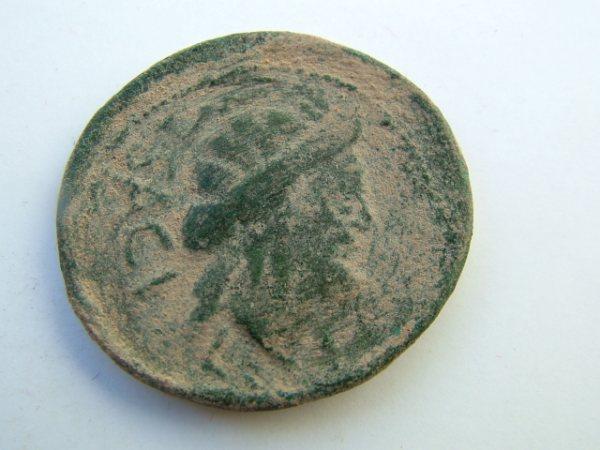 Imágenes a gran escala de pátinas y monedas falsas. Escalofriante (+18). 030-sa11