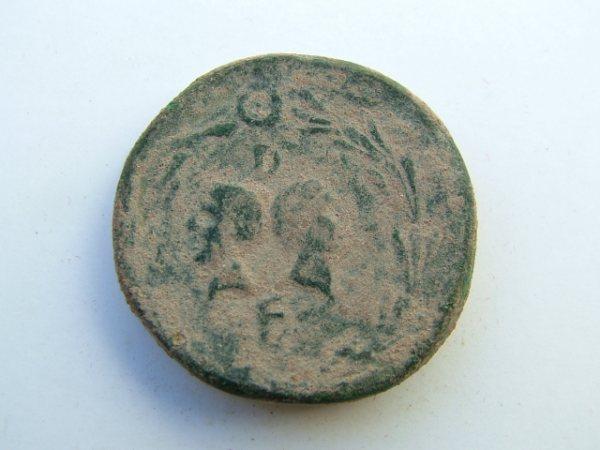 Imágenes a gran escala de pátinas y monedas falsas. Escalofriante (+18). 033-ga10