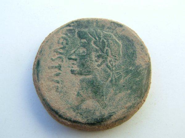 Imágenes a gran escala de pátinas y monedas falsas. Escalofriante (+18). 033-ga11