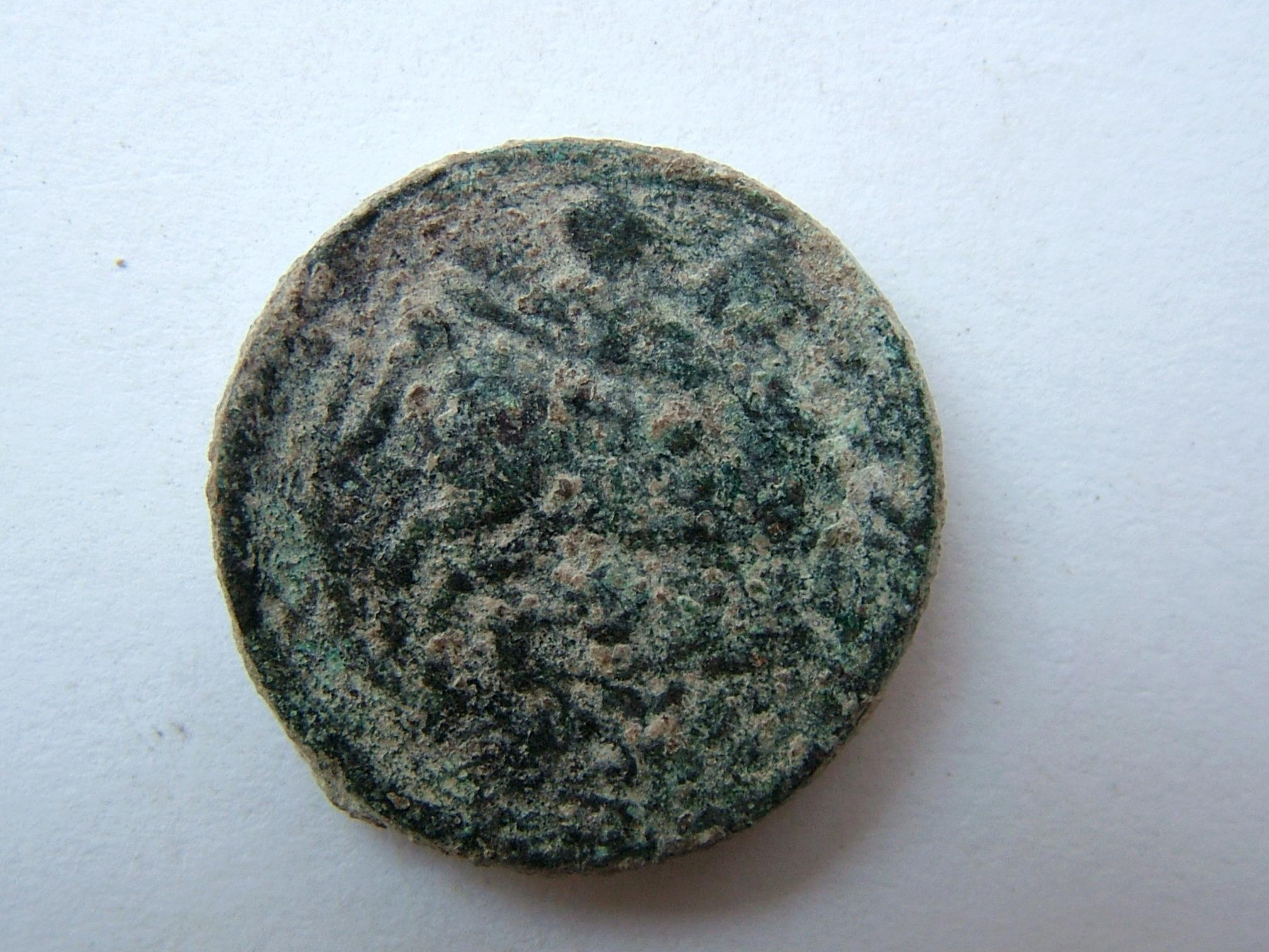 Imágenes a gran escala de pátinas y monedas falsas. Escalofriante (+18). 03_rev10