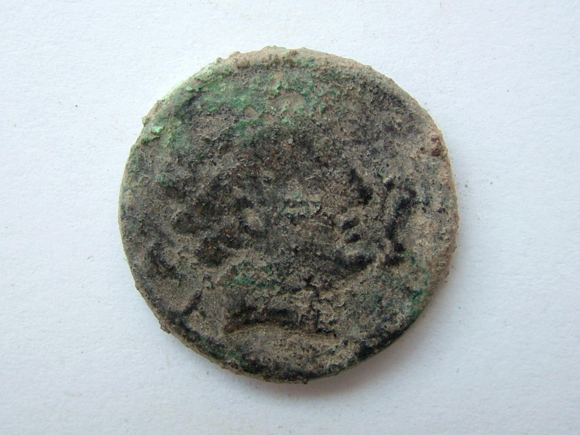 Imágenes a gran escala de pátinas y monedas falsas. Escalofriante (+18). 08_mea10