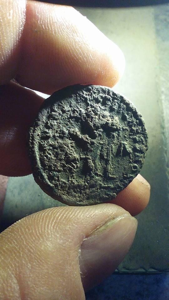 Follis de Diocleciano. Limpieza del antes y después 24293910