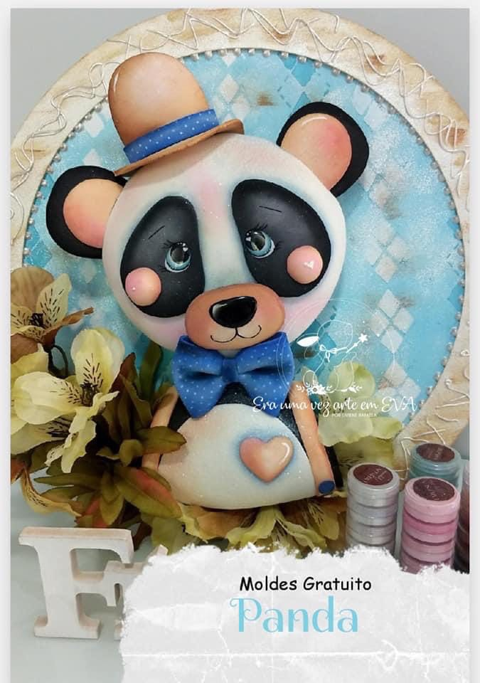 panda decorativo C14g4w10