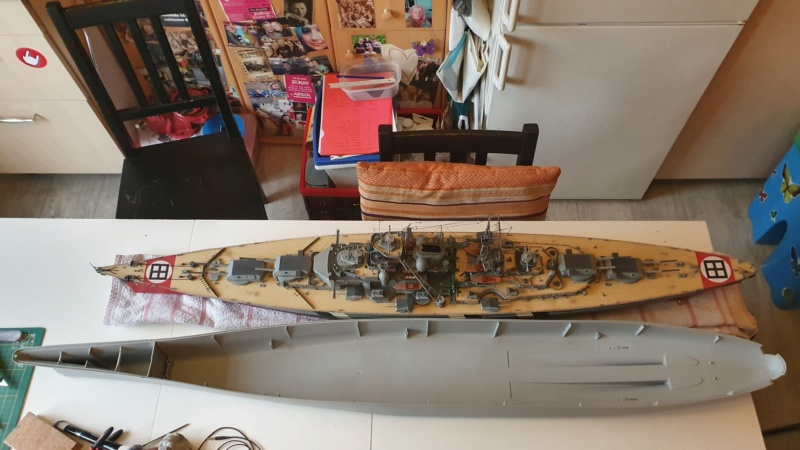 USS MISSOURI BB 63 - Thorsten's Baubericht 20191017
