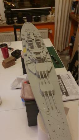 USS MISSOURI BB 63 - Thorsten's Baubericht 20191048