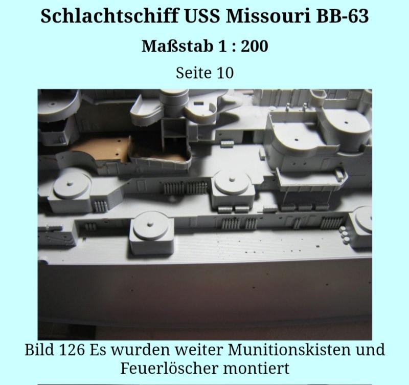 USS MISSOURI BB 63 - Thorsten's Baubericht 20191055