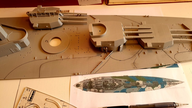 HMS RODNEY / Trumpeter, 1:200 RC 20200202