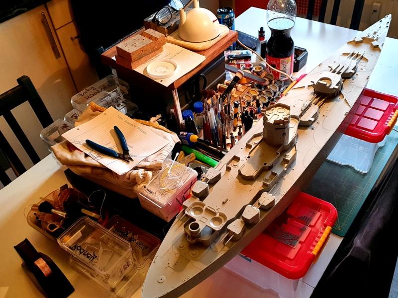 HMS RODNEY / Trumpeter, 1:200 RC 20200206