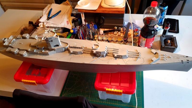 HMS RODNEY / Trumpeter, 1:200 RC 20200207