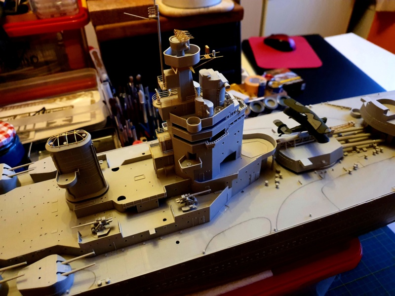 HMS RODNEY / Trumpeter, 1:200 RC 20200262