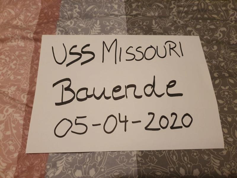 USS MISSOURI BB 63 - Trumpeter, 1/200 - Seite 4 20200267