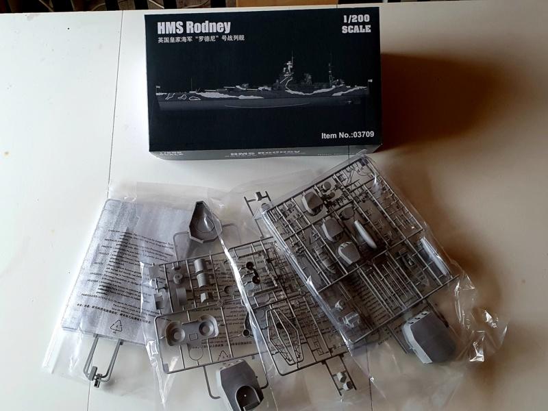 HMS RODNEY / Trumpeter, 1:200 RC 20200324