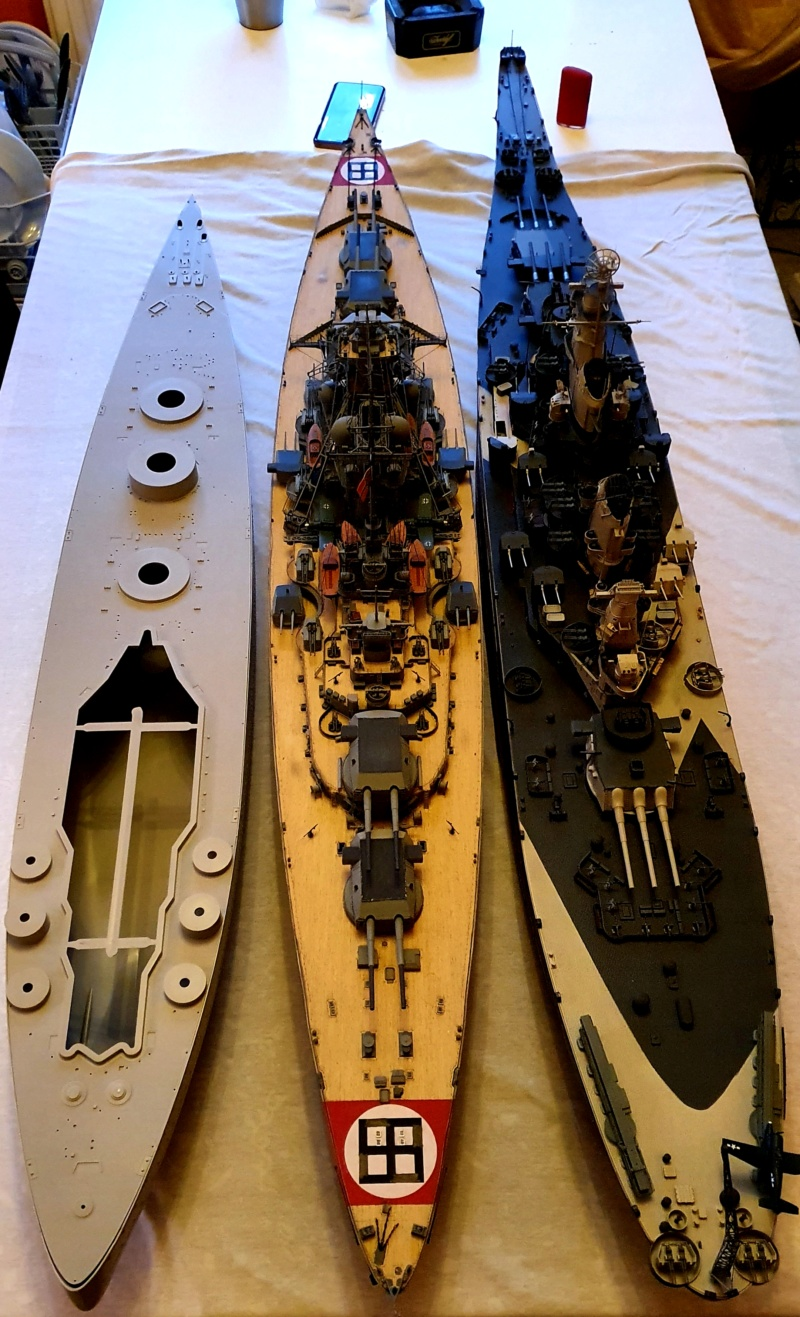 HMS RODNEY / Trumpeter, 1:200 RC 20200329