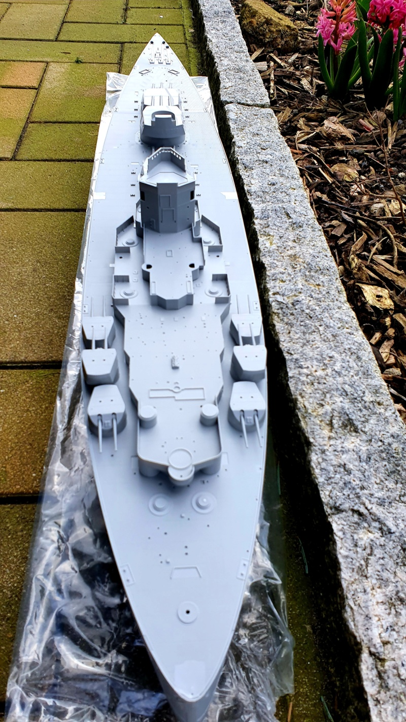 HMS RODNEY / Trumpeter, 1:200 RC 20200355