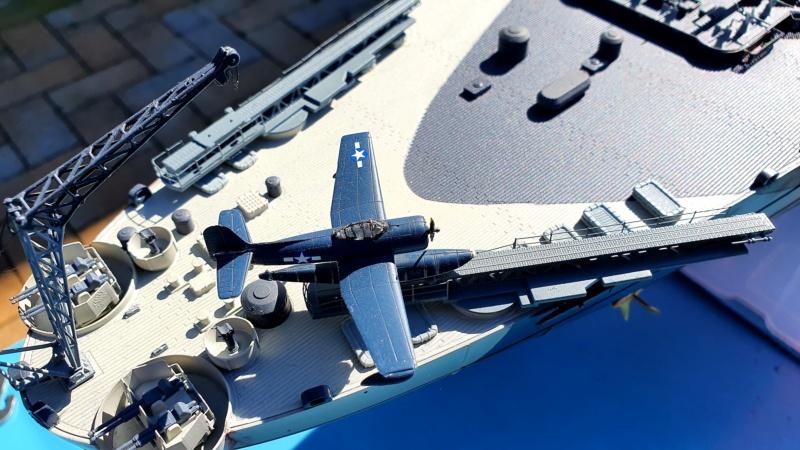 USS MISSOURI BB 63 - Trumpeter, 1/200 - Seite 4 20200399