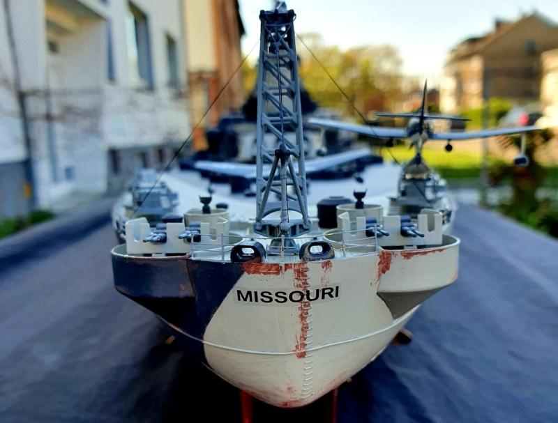 USS MISSOURI BB 63 - Trumpeter, 1/200 - Seite 4 20200417